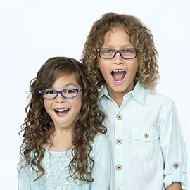 Kids in glasses maple grove eye doctors