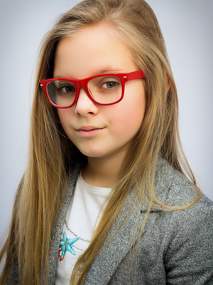 Kids Red Glasses Maple Grove Eye Doctors at Pearle Vision