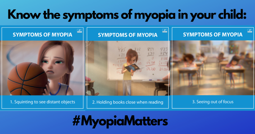 Symptoms of Myopia . Maple Grove Eye Doctors at Pearle Vision