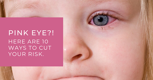 How to avoid pink eye . Maple Grove Eye Doctors at Pearle Vision