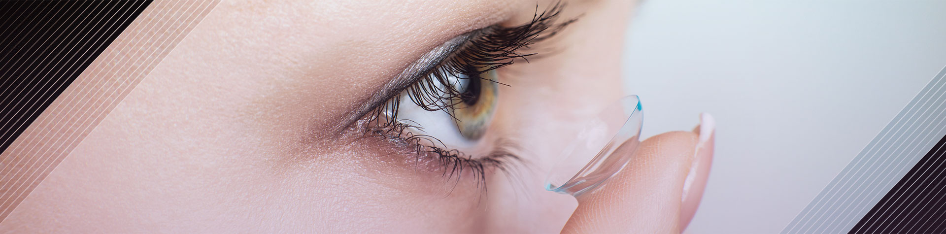 Contact Lens Insertion. Maple Grove Eye Doctors